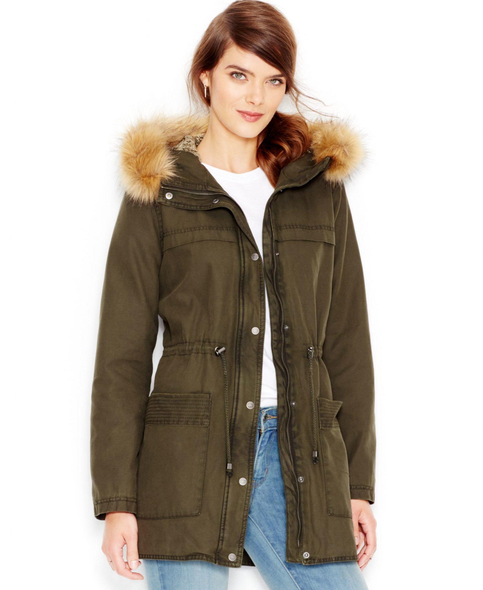 levis faux-fur jacket
