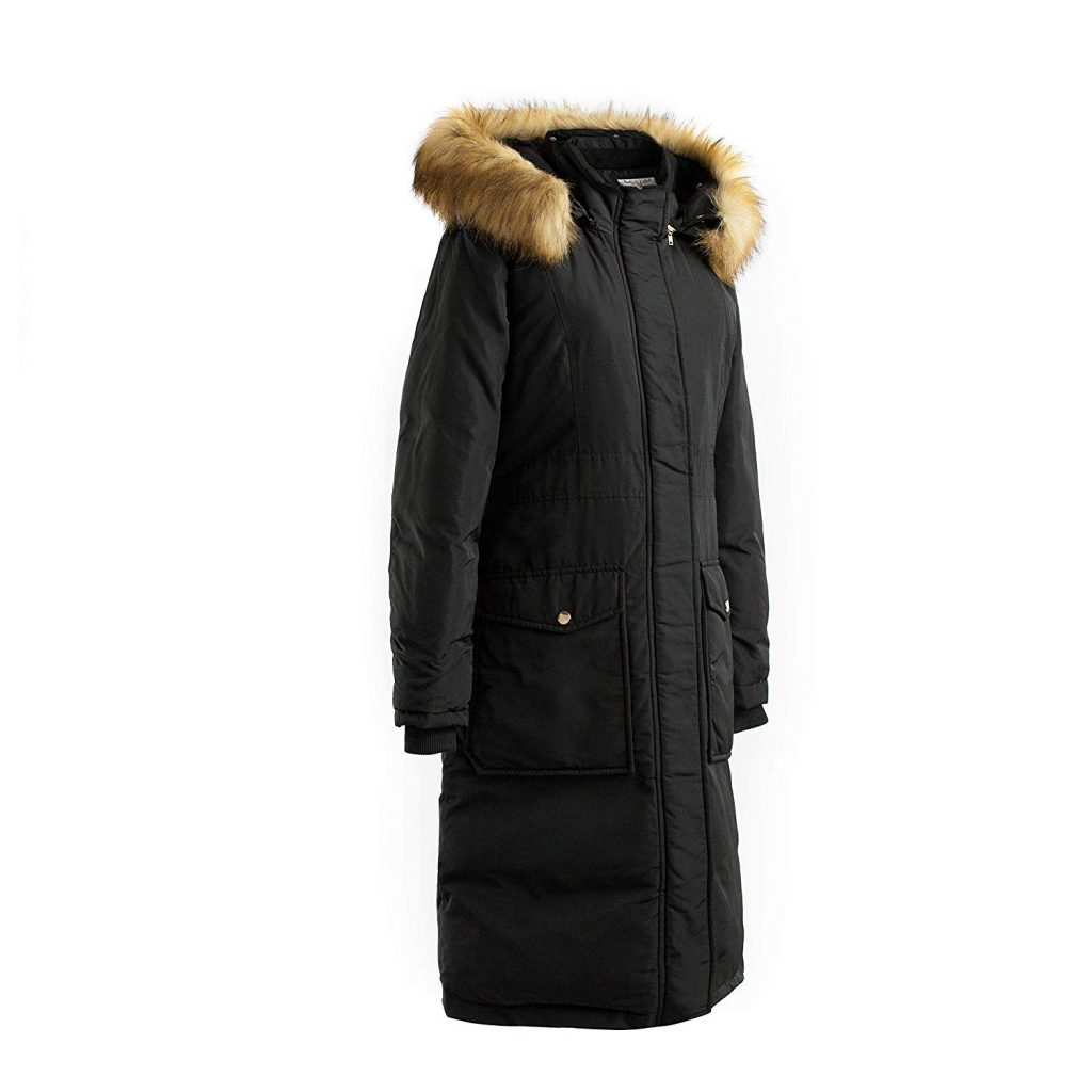 polydeer vegan coat