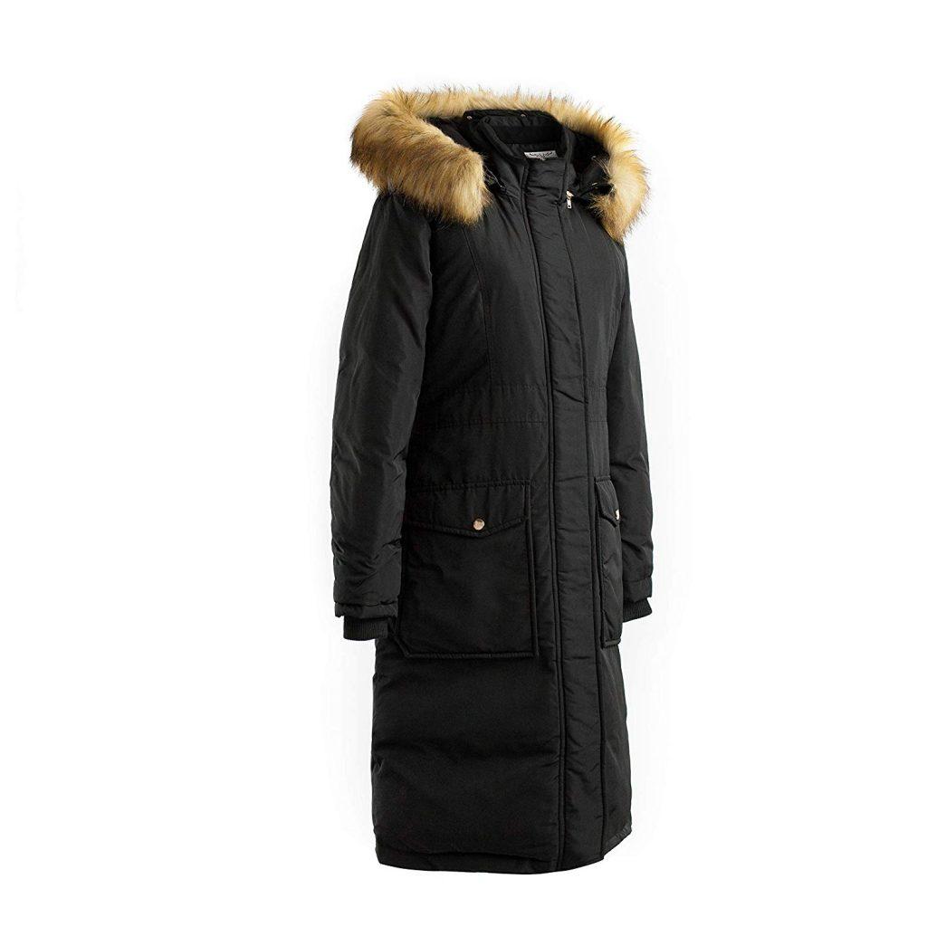 polydeer vegan coat